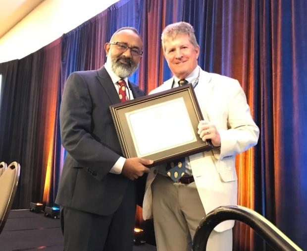Stanford Vascular Surgery AVF Distinguished Fellow Edmund Harris Jr.