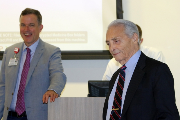 Dr. Dalman and Dr. Veith
