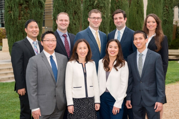 Dr. Wei Zhou and Vascular Residents and Fellows