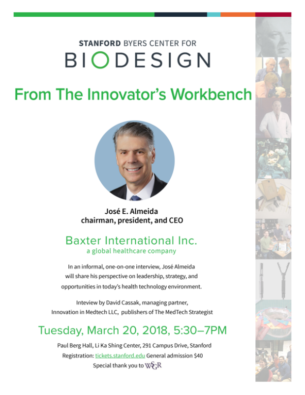 Flyer: From the Innovator's Workbench