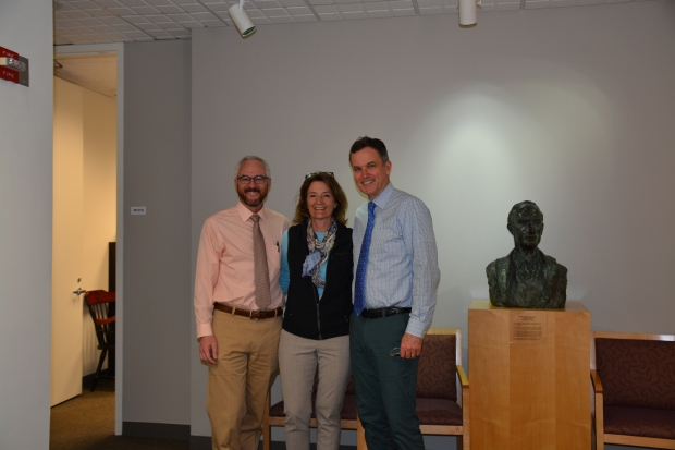 Dr. Mell, Dr. Hawn, and Dr. Dalman